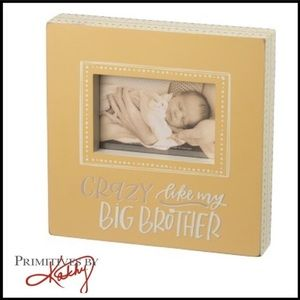 """""""Crazy Like My Big Brother"""" Boxed Picture Frame"""